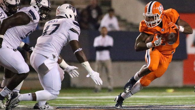 UTEP's Aaron Jones just made a little more history.The junior from Burges, the Miners' all-time rushing leader and the nation's fourth-leading rusher this season, is one of 10 semifinalists for the Doak Walker Award, which goes to the NCAA's top running back.