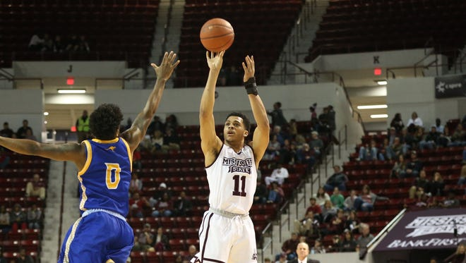Mississippi State sophomore Quinndary Weatherspoon scored 25 points in a win on Thursday.