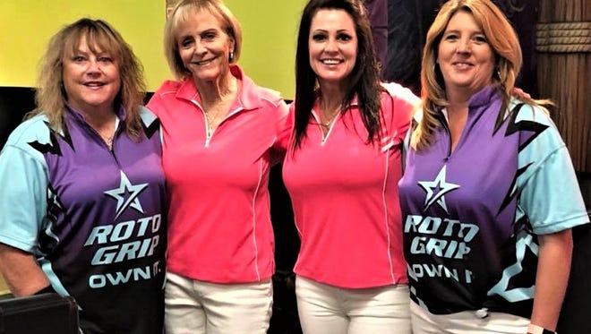 Chris Sanzone, from left, Debbie Lehnen, Susan Ireland, and Sherri Snarr,