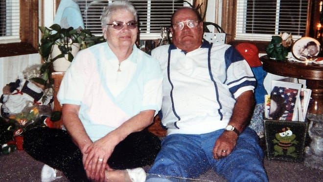 William and Donna Ranson were found dead of a murder-suicide March 2, 2018, after their daughter, Vicki Ranson, went to check on them at their home in the Lakewood Village RV Resort. Ranson said she found a note on the door saying that her father had shot her mother and then himself. This picture was taken in 2001