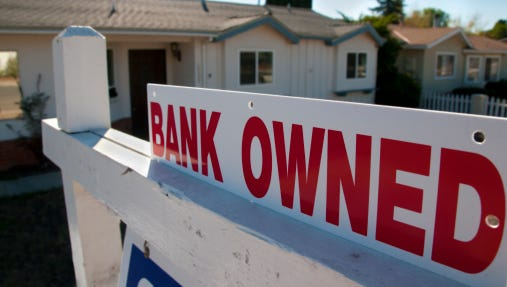 Foreclosures are down in the Phoenix area.