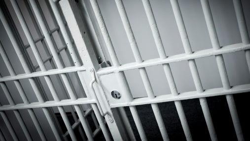 A stock image of a prison cell.
