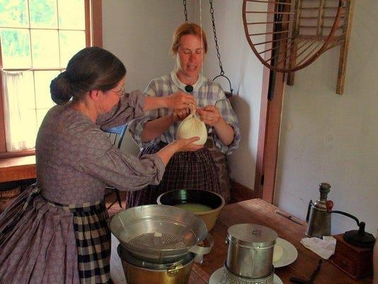 cheese making