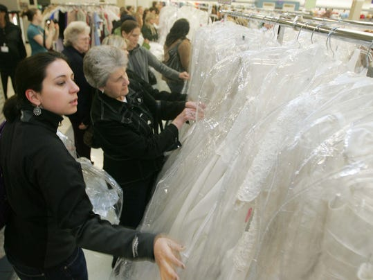 Wedding dresses start at $20 at Rivergate Goodwill