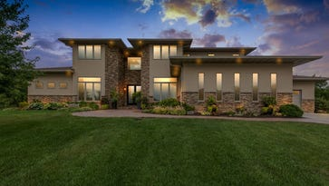 Photos: 6,700-sq. ft. contemporary showplace in Johnston
