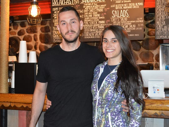 Kodi and Rachel Malik own 1863 Coffee Saloon & Cafe.