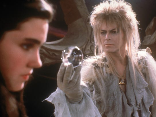 Jennifer Connelly and David Bowie star in the 1986