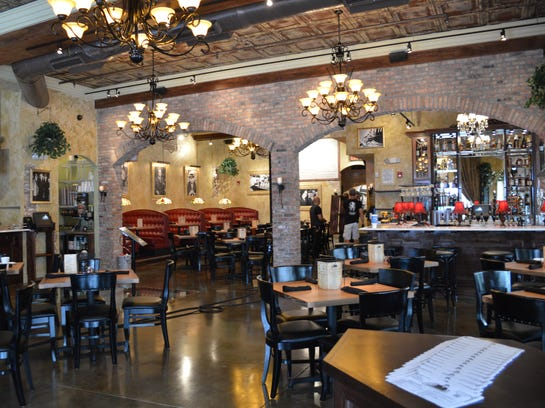 Capone's Coal Fired Pizza in downtown Fort Myers.