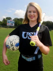 USJ's Addison Dunn scored 36 goals and added 20 assists on the soccer field, and batted .574 with 27 RBI and 42 stolen bases.