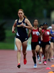 Colonia's Shelby Piccinic competes in the 800 meter