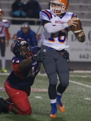 South Panola's O'bryan Goodson forces Southaven Quarterback