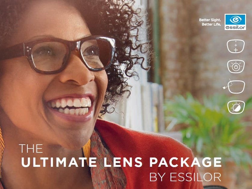 Purchase the Varilux Ultimate Lens Package & receive a 2nd pair of lenses for FREE at Elmquist Eye Group!