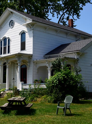 Pat and Lori Hayes own The Inn, a popular bed-and-breakfast on Kelleys Island. The Inn is a restored Victorian home that was built in 1876 and was formally established to receive guests in 1905.