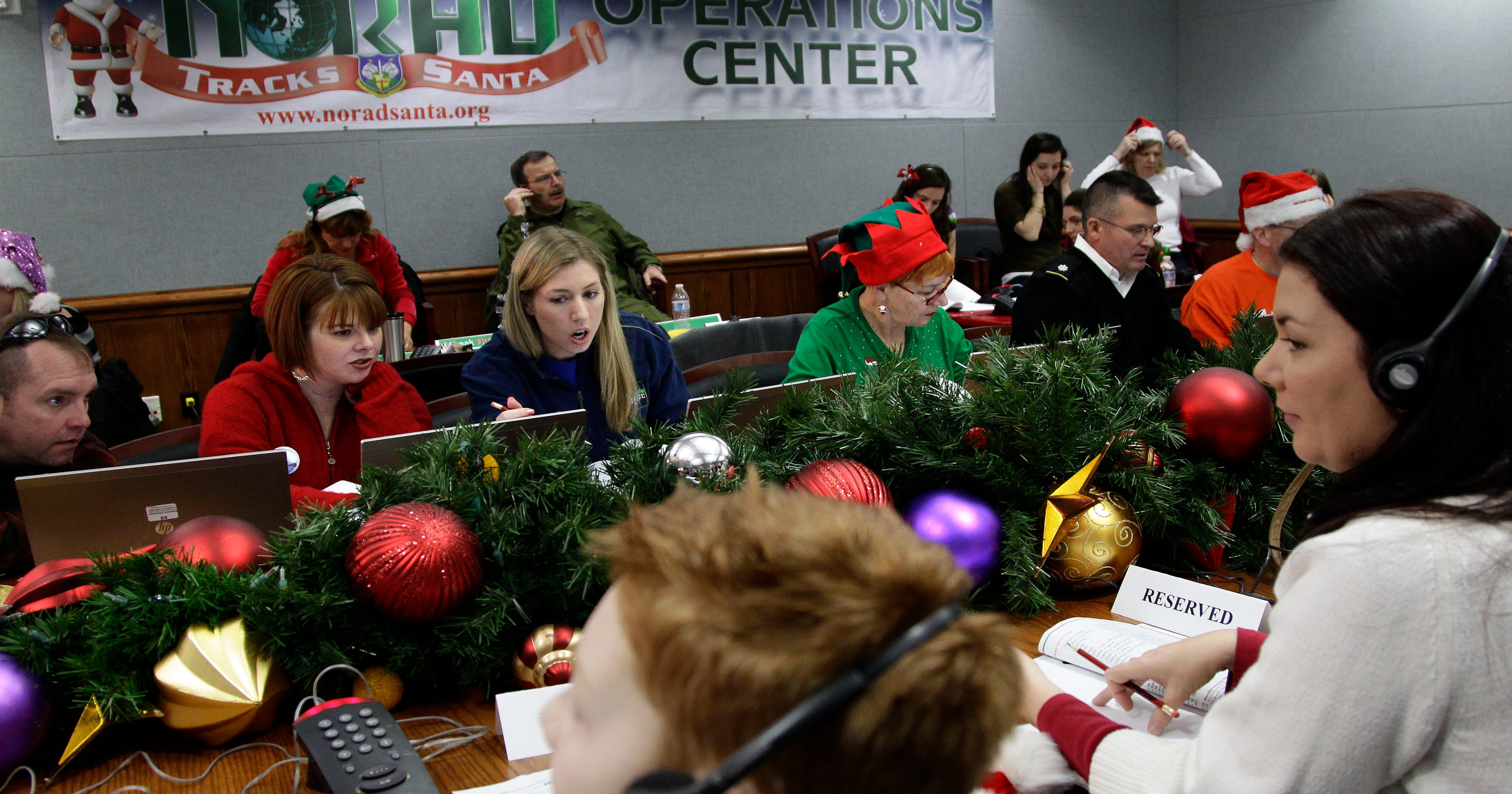 When is Santa Claus comin\' to town? NORAD tracks him