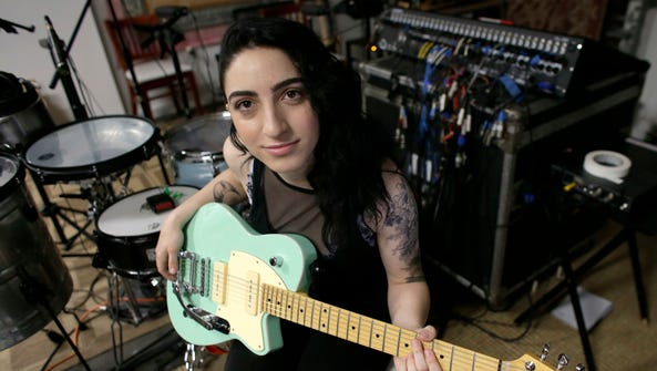 In this Jan. 31, 2017 photo, Emily Estefan poses after