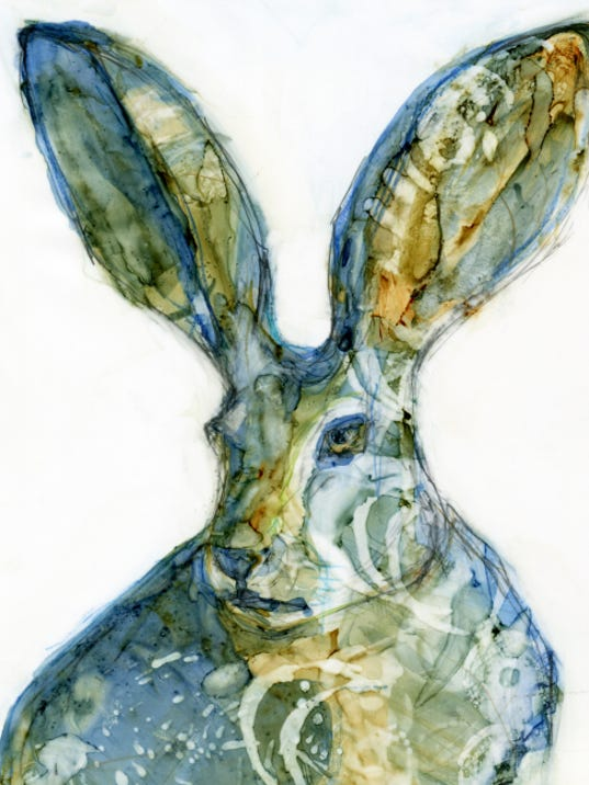 """""""Hare,"""" by Robin Wiener Labe, is among works featured in """"OBJECT/image."""""""