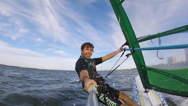 Outdoor Gulf Coast offers windsurfing lessons.