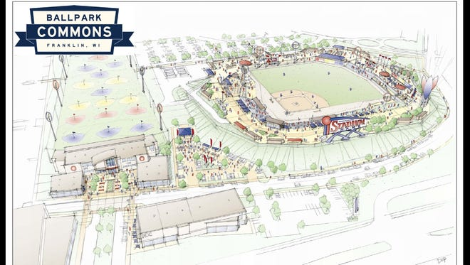 Site preparation work for Franklin's Ballpark Commons mixed-use development is to begin next week.