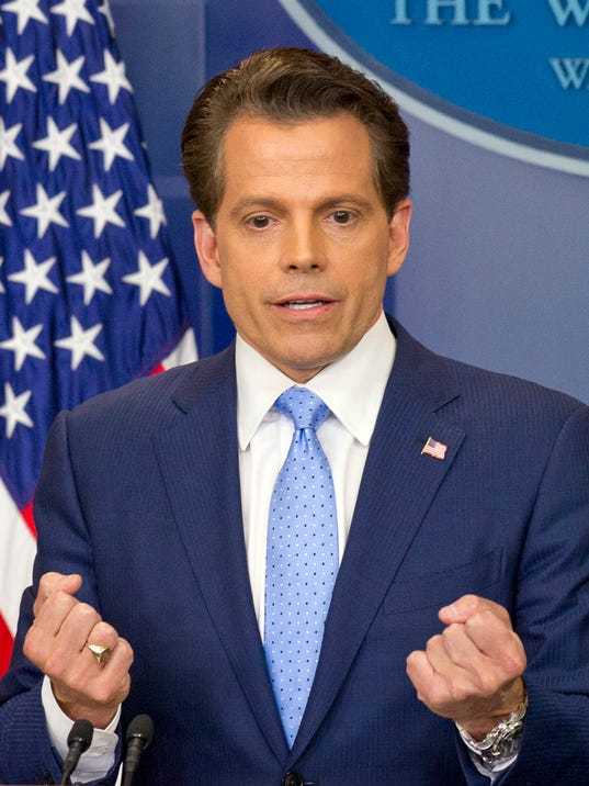 Scaramucci purges Twitter messages to avoid being 'distraction'