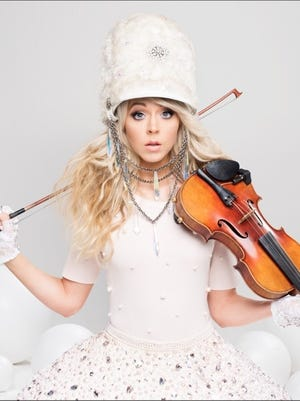 Lindsey Stirling will perform Nov. 29 at the Abraham Chavez Theatre in Downtown.