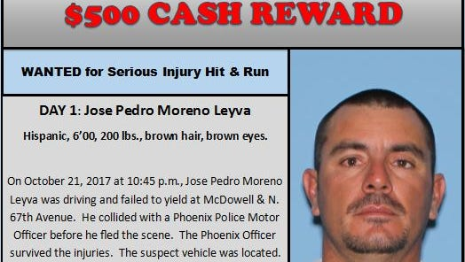 A new program launched by Silent Witness offers a quicker payout of cash rewards for information leading to a suspect's arrest. The first suspect issued is seen in this flyer.