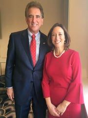 Jim Renacci last month announced Amy Murray as his running mate in the Ohio governor's race.