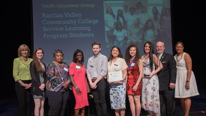Student in RVCC service learning program honored with NJ State Governor's Jefferson award.