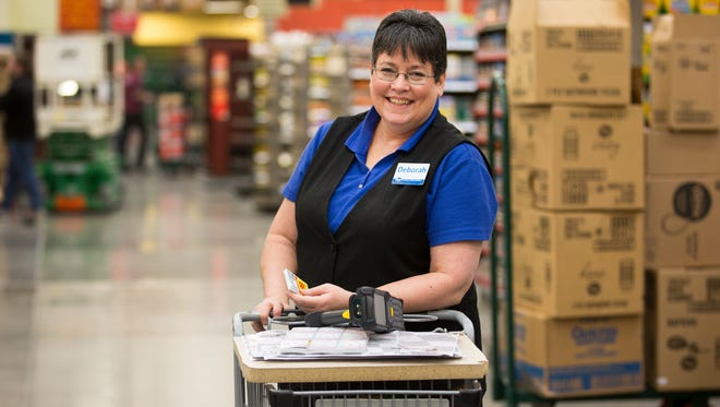 Deborah Basinger has been an employee with Kroger for 39 years. She was previously at the Cold Spring store, but volunteered for the new Corryville store that opens March 9. She's a scan coordinator.