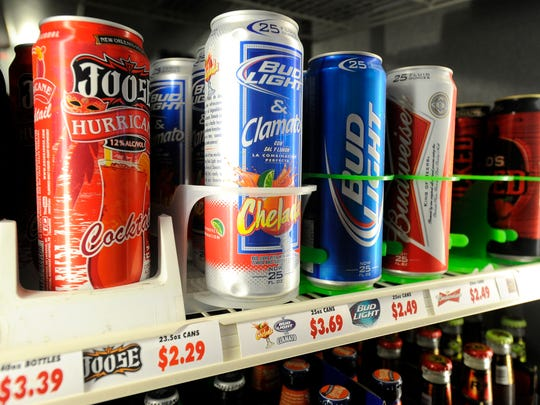 Single-serve alcohol is sold at Friendly's Fuel Stop
