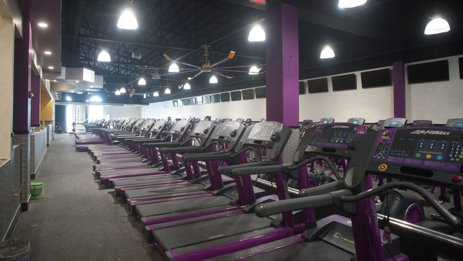 The historic Westmont Theatre is nearing its transformation into a Planet Fitness.