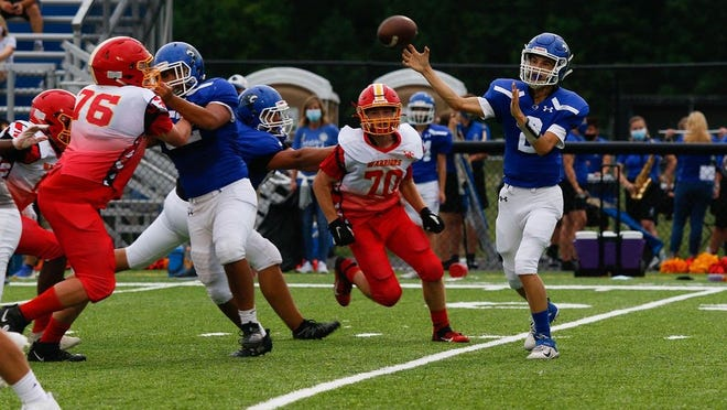 Quarterback Jayden Hanks and Grove City Christian will play host to Zanesville Rosecrans on Friday, Sept. 18, looking for a third consecutive win.