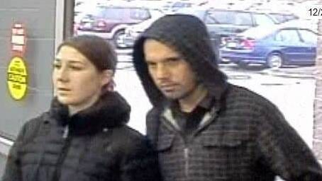 State Police issued these surveillance photos of a man and woman suspected of stealing Ninja-brand blenders from Walmart stores in Morris and Sussex counties.