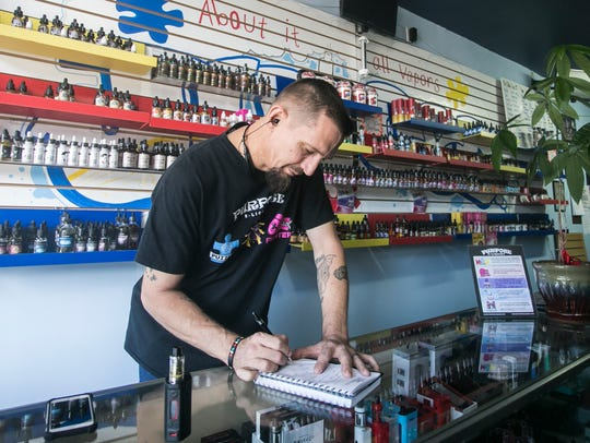 About It All Vapors owner Tony Myers, of Hanover writes