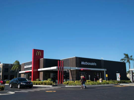 McDonald's on Colonial Boulevard near the intersection