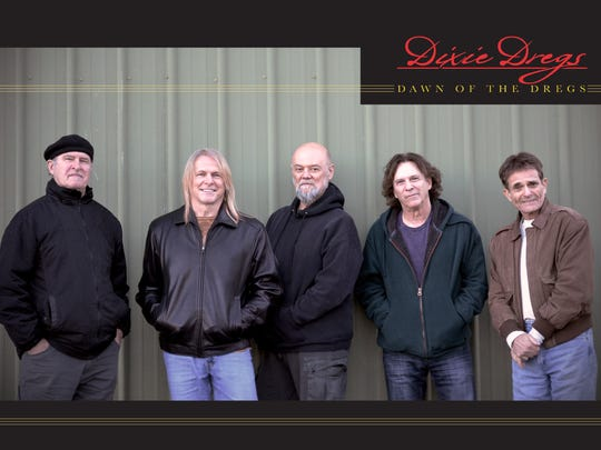 The Dixie Dregs, the original lineup, will showcase