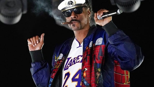Rapper Snoop Dogg turns 49 today.
