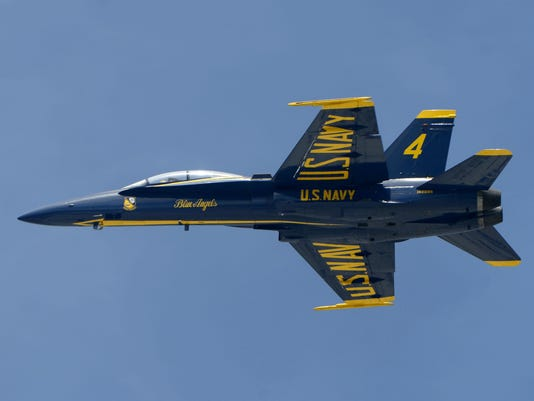 Pensacola Beach draws thousands for annual air show featuring the Blue Angels