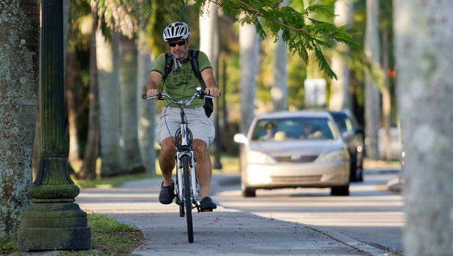 Andy Getsch, 54, began biking to work seven years ago for health and exercise.