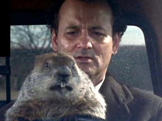 "Bill Murray stars in ""Groundhog Day,"" playing at 7 p.m. Jan. 31 at Asheville Pizza and Brewing on Merrimon Avenue."