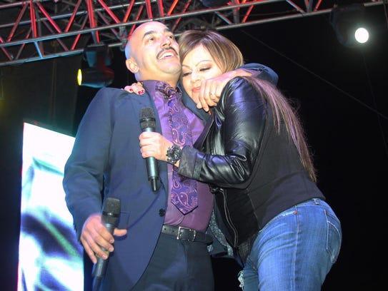 Lupillo y Jenni Rivera