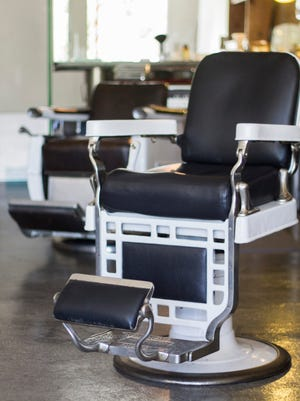 Barbershop chairs are barbershop chairs, no matter where you go.