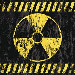 Radiation symbol.