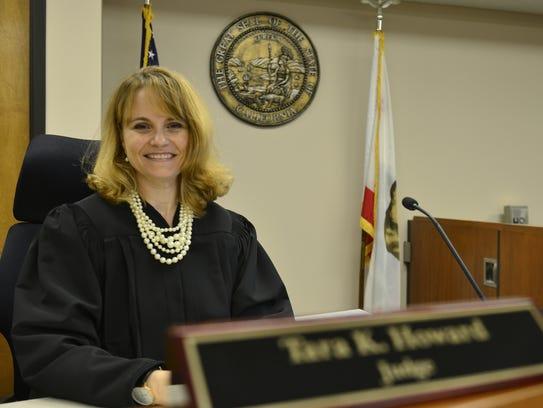 Judge Tara Howard took the Family Law bench at the