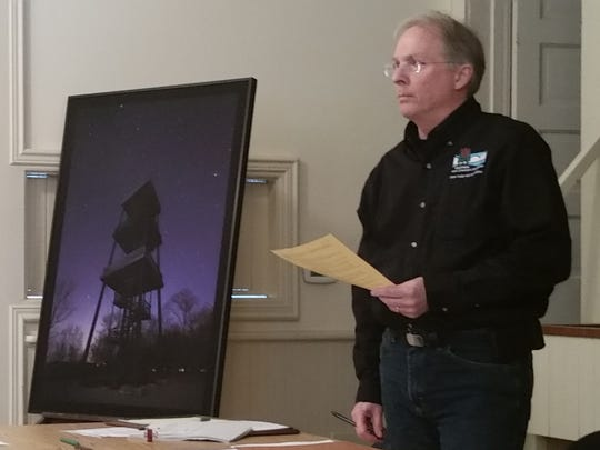 Jeremy Leiterman, the DNR's Northeast Region parks recreation manager, explains studies done and why Eagle Tower is closed.