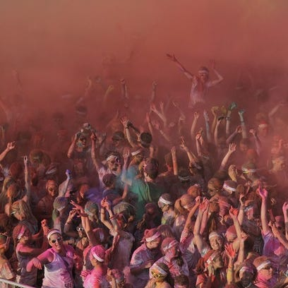 The Color Run in Racine is just one of the ways you can find fun in Wisconsin this spring.