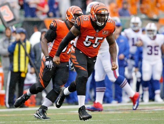 Cincinnati Bengals outside linebacker Vontaze Burfict