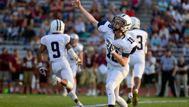 Corey Wise will return as West York's starting quarterback in 2019.