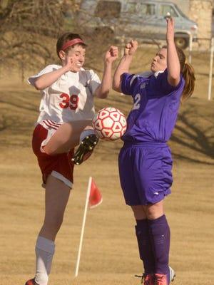 Kiel senior soccer player Faith Hagenow, right, is this week's Prep Profile.