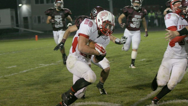 Running back Emerson Lowe is among Port Clinton's returning players.