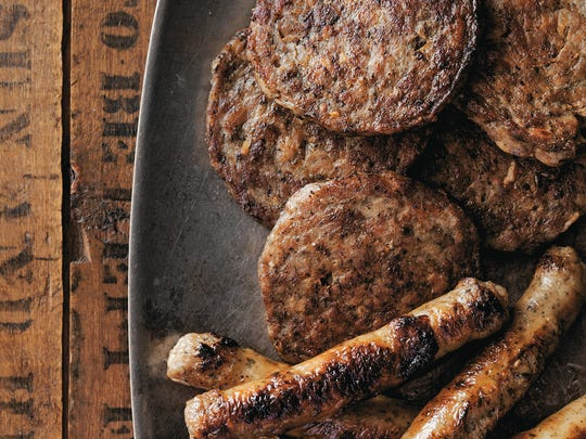 "This breakfast sausage from ""Big Bad Breakfasts"" by John Currence starts with five pounds of pork shoulder."